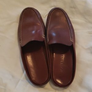 Cole Haan Brown Leather Slide-ons